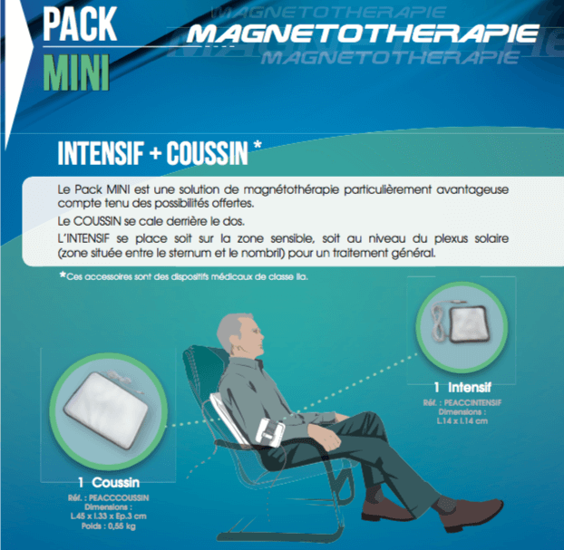 Description Pack Mini Champs magnétiques pulsés