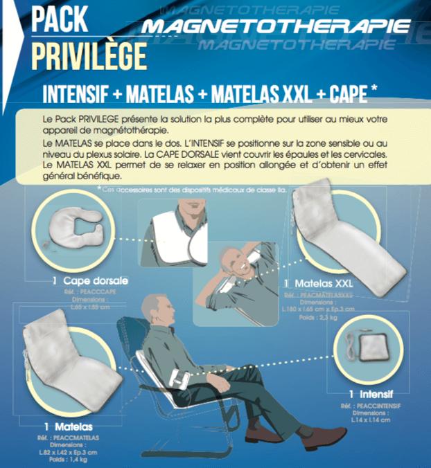 Description Pack Privilège Champs magnétiques pulsés