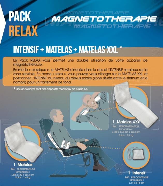 Description Pack Relax Champs magnétiques pulsés